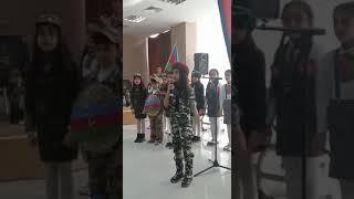 Zalimlara meydan oxuyan balaca Azerbaycan qizi.Maksudzade Hecer