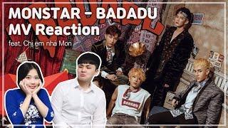 """Người Hàn Quốc react về """"MONSTAR - BADADU"""""""