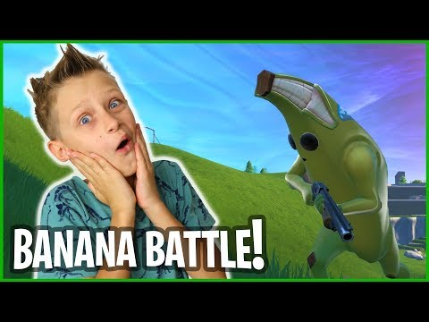 WHEN THE BANANA IS IN BATTLE ROYALE!