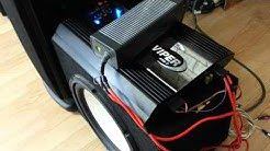 Car audio at home - DIY - DC power supply  PSU w/ xbox 36o brick