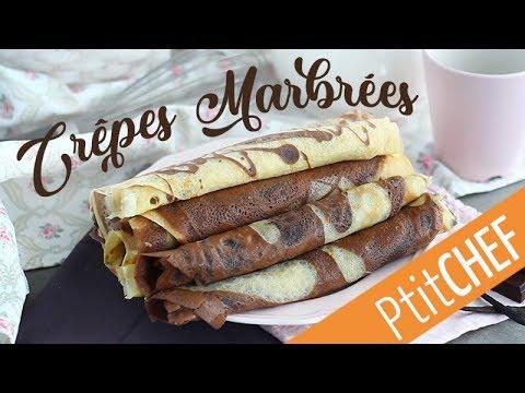 recette-de-crêpes-marbrées-chocolat-/-vanille---ptitchef.com