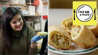 The Original Egg Roll at Nom Wah with Alex Guarnaschelli | Food Network