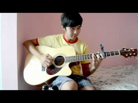 (WITH TABS) Maroon 5 ft.Wiz Khalifa - Payphone (Fingerstyle cover by Jorell)