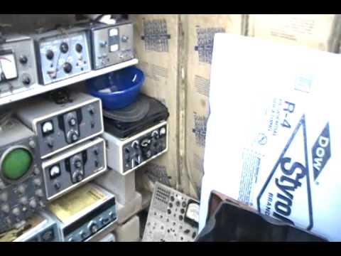 Old Ham radio equipment.