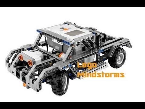 Lego Mindstorms Inteligent Car Youtube