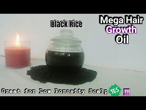 diy-black-rice-oil- -how-to-make-black-rice-infused-oil