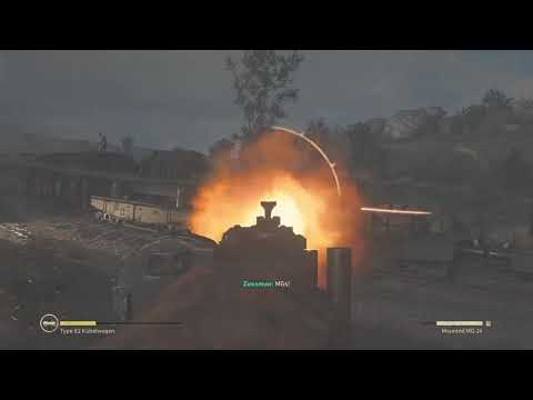 TRAIN WRECK!   Call of Duty: WWII Campaign (Ep 4)