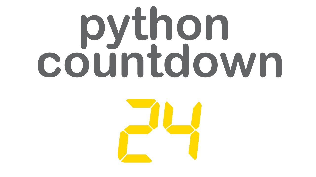 Simple Python Countdown