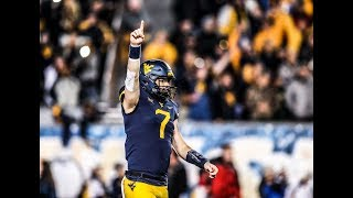 Top Will Grier plays halfway through Big 12 Conference season