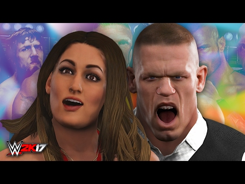 NIKKI BELLA'S LOVE CHILD!! | WWE 2K17 Story (Part 1)