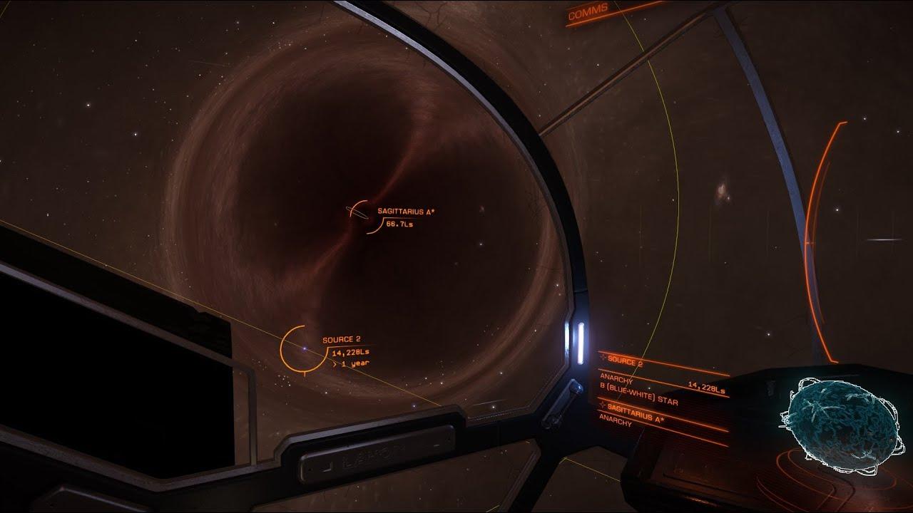 [720p] Elite: Dangerous New Super-massive Black Hole in 1 ...