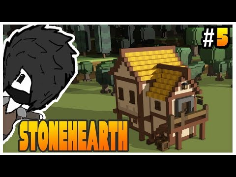 Stonehearth Alpha 23 - Cozy Tavern and Mining - Ep 5