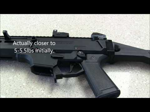 CZ Scorpion EVO 3 S1 thoughts & setup PCC