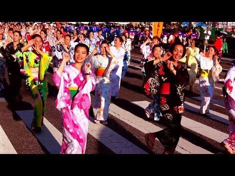 北九州わっしょい百万夏まつり 2019 百万踊り 第1部  令和元年