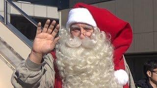 成田空港に11月30日、クリスマスより一足早く、北欧フィンランドか...