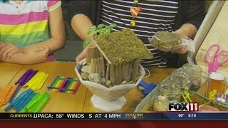Thrifty Thursday: Making A House For Your Fairy Garden