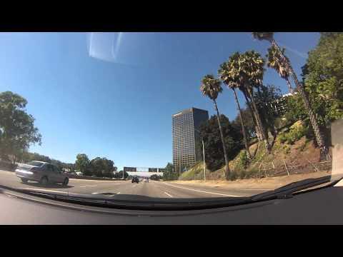 Driving to Santa Monica 1