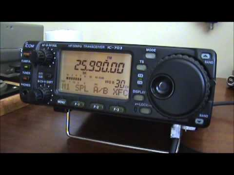 25.990 mhz KSCS Arlington, Texas NFM transmitter link heard in Ireland.
