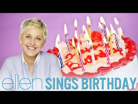 Ellen DeGeneres Singing Birthday by Katy Perry