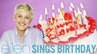 Ellen DeGeneres Singing Birthday by Katy Perry