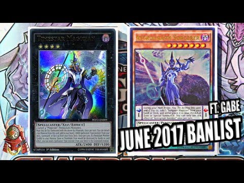 YUGIOH! BEST PENDULUM MAGICIAN DECK PROFILE! POST PENDULUM EVOLUTION! JUNE 12, 2017 BANLIST! FT.GABE