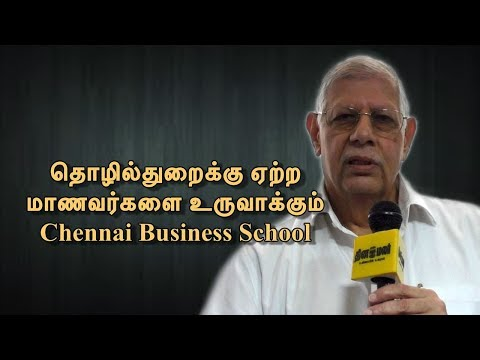 Founder and Director of Chennai Business School