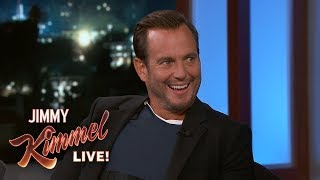 Will Arnett & Jimmy Kimmel Battle for Batman