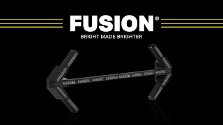 Fusion Arrow Board // The Brightest Lights for Construction and Utility Vehicles