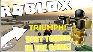 COMMANDO UNIT/TOWER REVIEW! - TOWER DEFENSE SIMULATOR [ROBLOX]