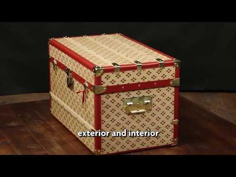 How build a luxury  trunk (  brand : Aux  etats unis )