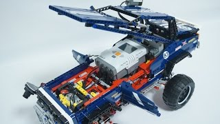 LEGO Technic 41999 4x4 Crawler with NXTCAM (EV3 Driverless Car) 무인자동차 by 뿡대디