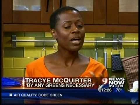 WUSA 9 TV Food Demo with Tracye McQuirter, By Any Greens Necessary