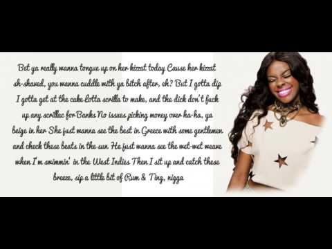 Azealia Banks - Liquorice Lyrics