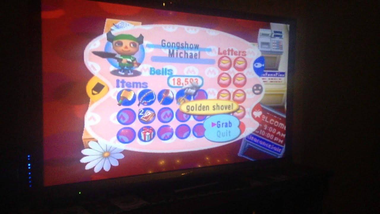<b>Animal Crossing Gamecube</b>: Golden Shovel <b>Code</b> - YouTube