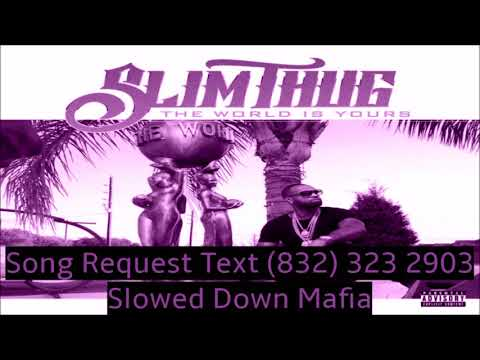Slim Thug Ringin Slowed Down Mafia @djdoeman