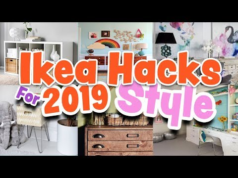 IKEA Hacks for 2019 Style