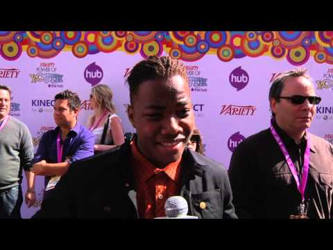 2010 Variety's Power of Youth - Leon Thomas III (red carpet)