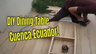 Save $ - Diy Furniture Building - Rustic Dining Table And Chairs