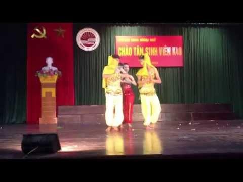 Múa Ấn Độ - K38 Cử Nhân Tiếng Trung ĐHSPHN II