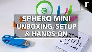 Sphero Mini Unboxing, Setup & Hands-on