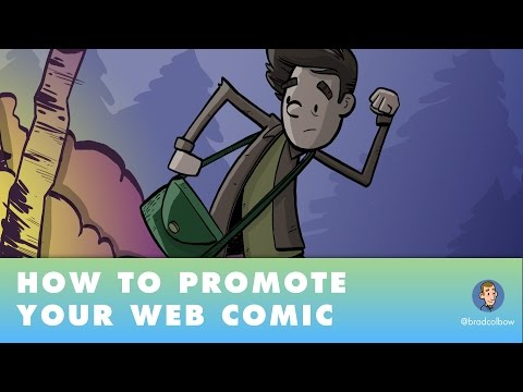 How to Promote Your Web Comic (or art or video or anything really)