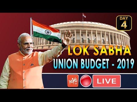 LOK SABHA LIVE : 4th Day PM Modi Budget 2019 Session of 17th Lok Sabha | New Delhi | 10-06-2019
