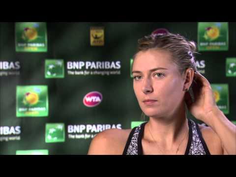 2015 Maria Sharapova Saturday Interview