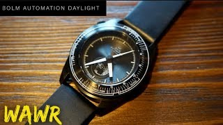 BOLM Automation Daylight PVD Watch Review - Daylight Function?!?!
