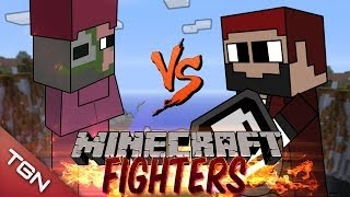 PIG MAGE VS PIRATE CAPTAIN: MINECRAFT FIGHTERS - Arena Battle