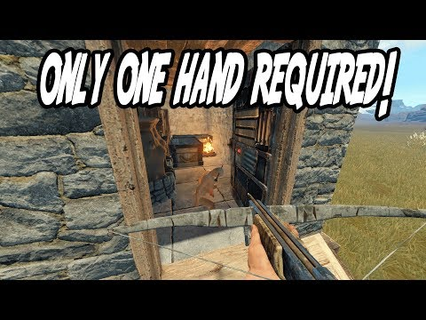 GOING DEEP ONE HANDED! (Rust)