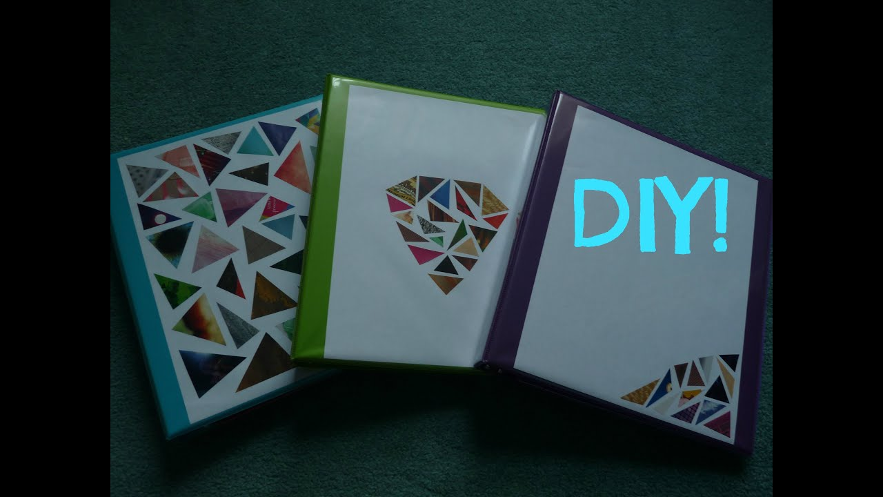 Binder Design Ideas Tumblr