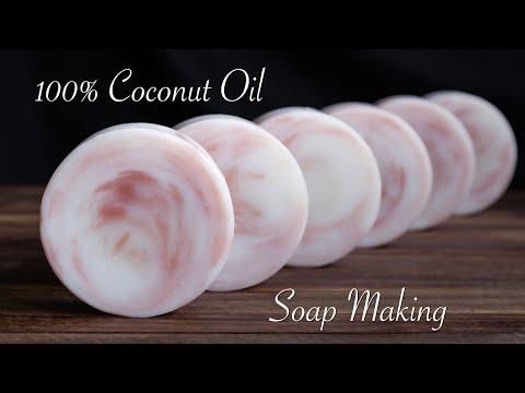 Coconut Oil Soap | Cold Process Soap Making