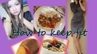 How to lose weight and keep fit (my secret tips) & sneak peak into what i eat everyday.