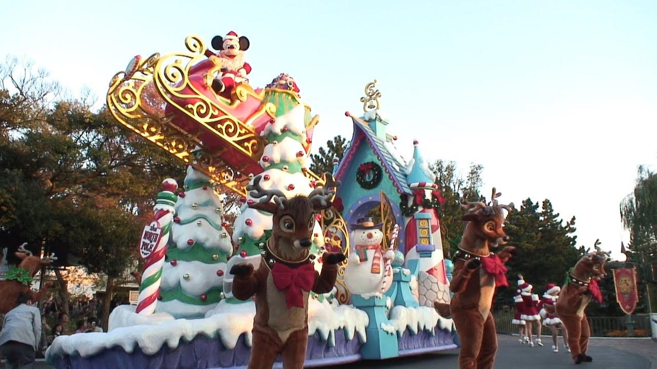 2007年11月12日 tdl ディズニー・クリスマスドリームス・オン